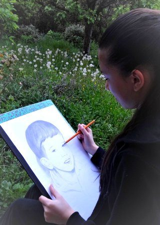Atelier Dessin Portrait Village-Club Faistesvacances